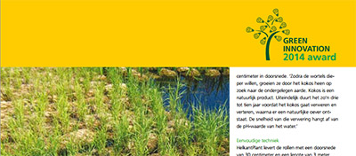 green innovation award-helkantplant