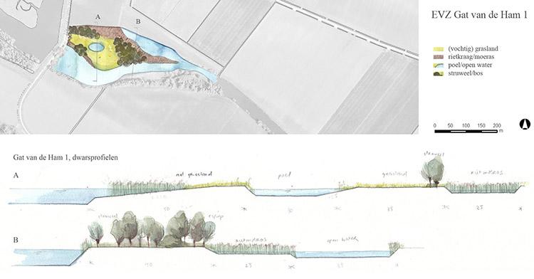 Inrichtingsschets EVZ Waterschap Brabantse Delta
